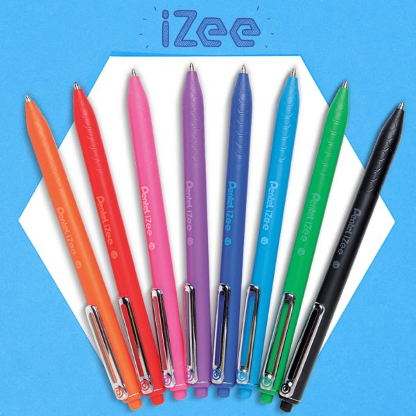 Pentel Izee Retractable 8 colours
