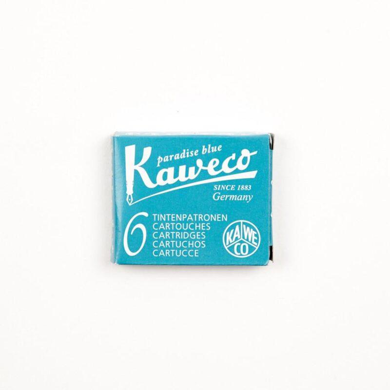 Kaweco Ink Cartridges - Paradise Blue