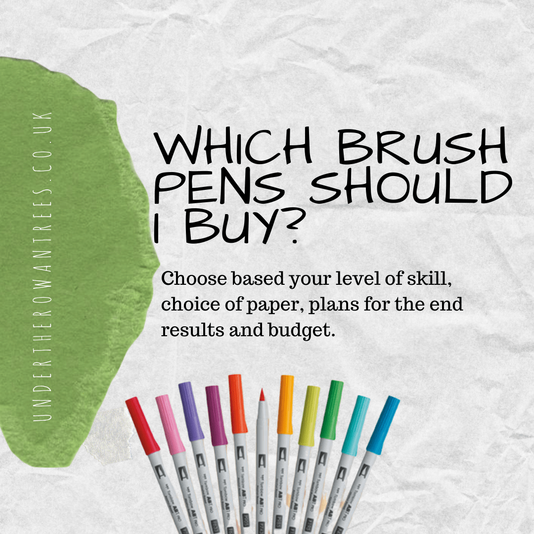 Which Brush Pens should I buy?