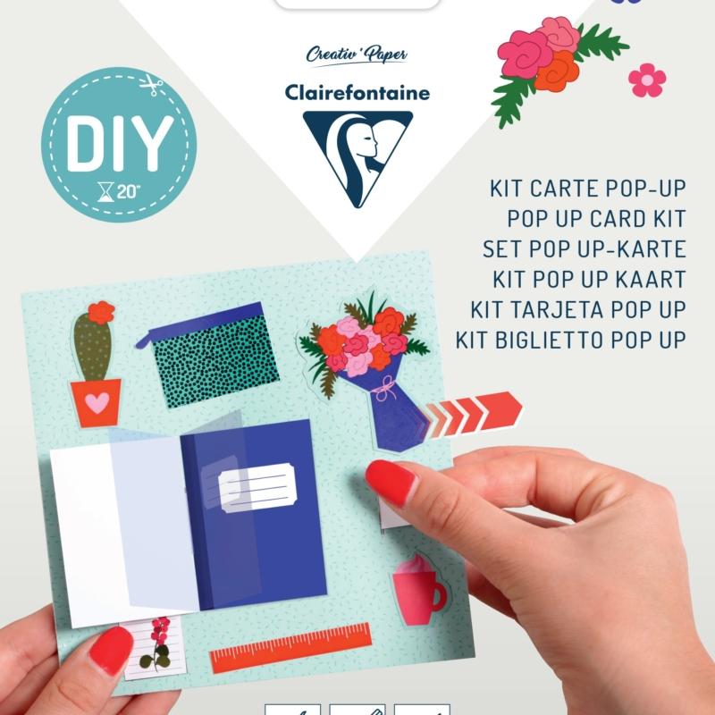 Pop-up Card Kit - Desk
