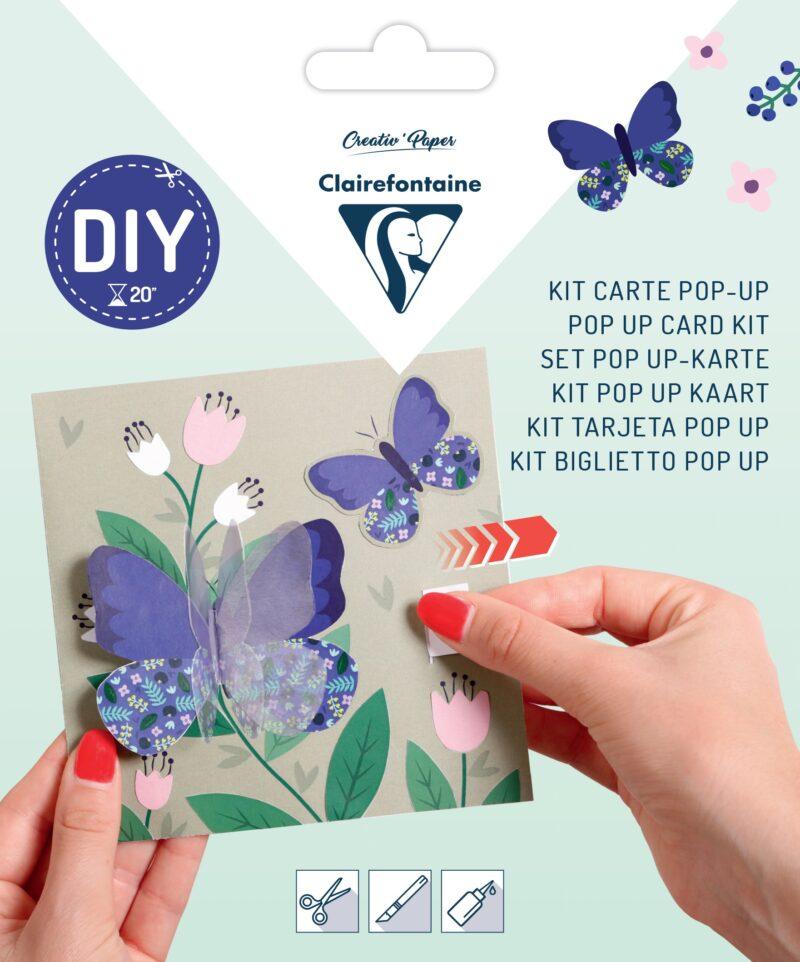Pop-up Card Kit - Butterfly