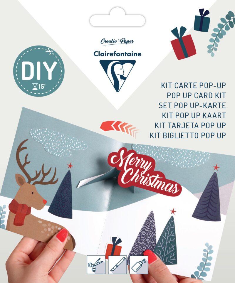 Pop-up Card Kit - Reindeer