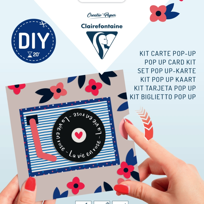 Pop-up Card Kit - Record Player