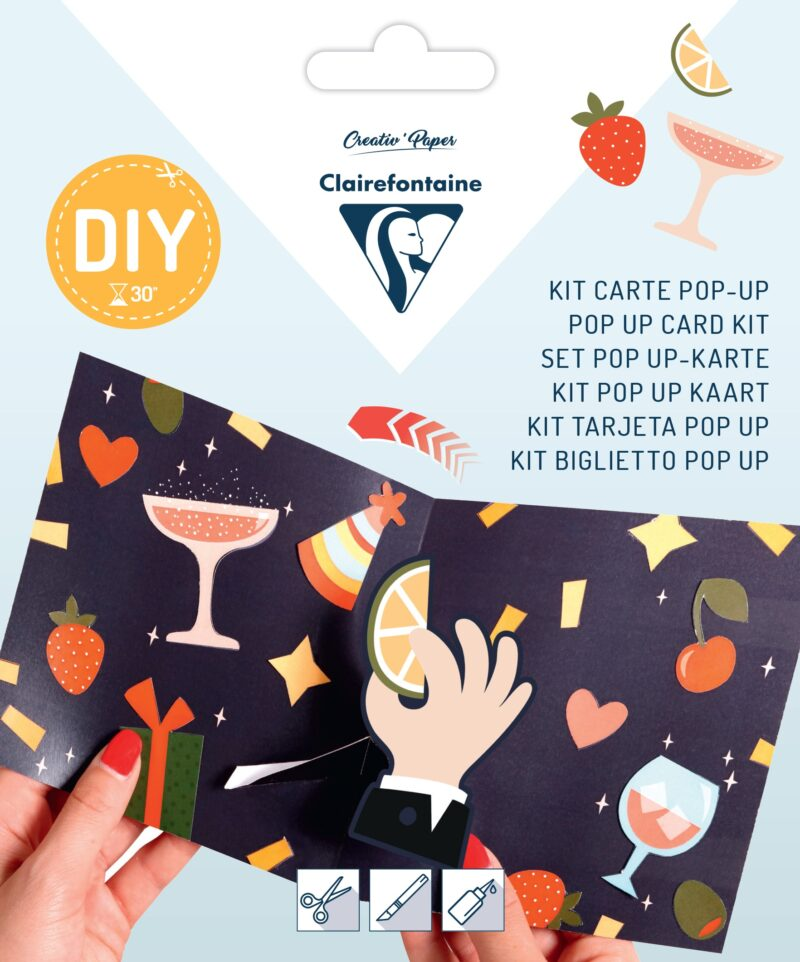 Pop-up Card Kit - Drinks
