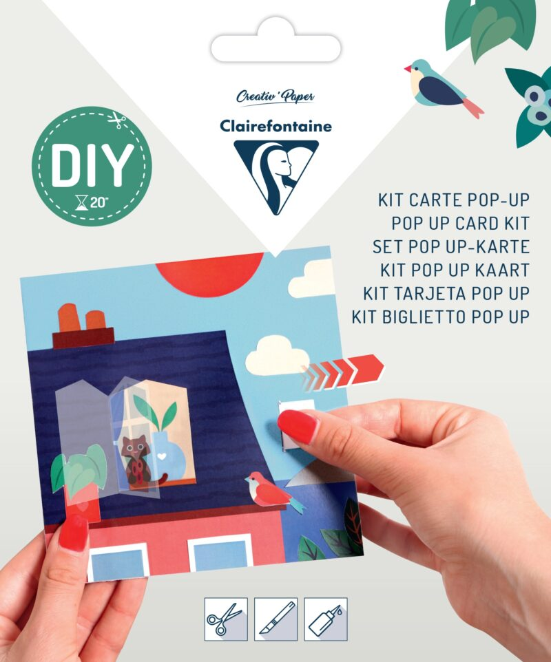 Pop-up Card Kit - Roof