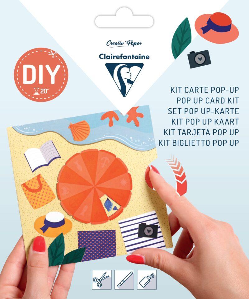 Pop-up Card Kit - Beach
