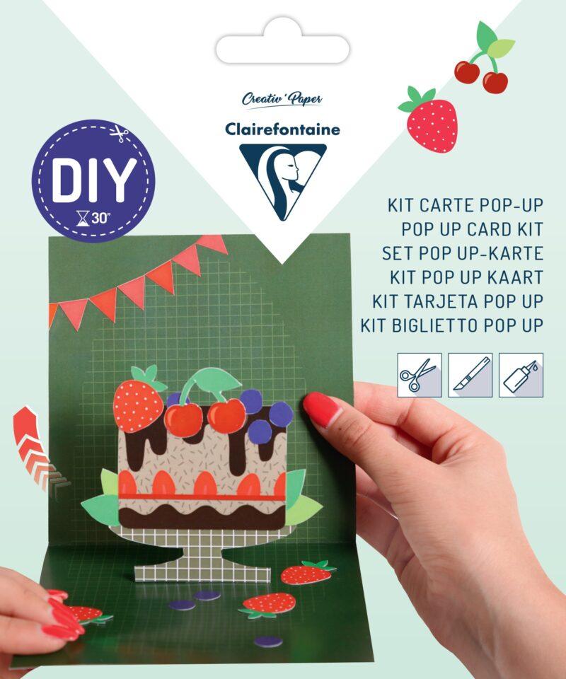 Pop-up Card Kit - Cake