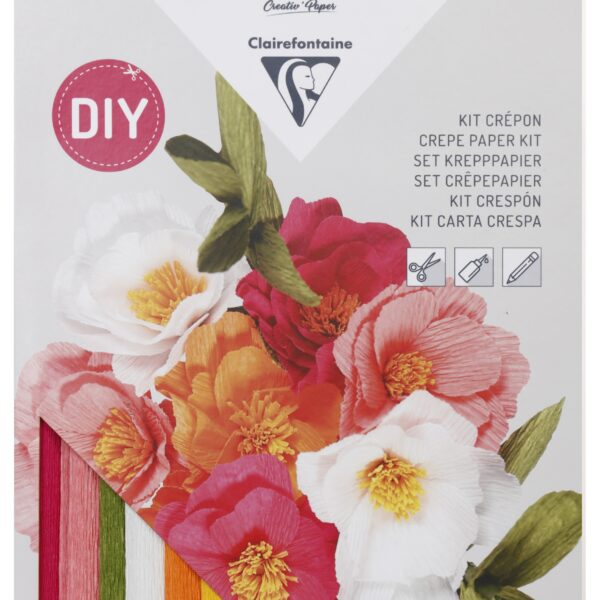 Crepe Paper Flowers Kit