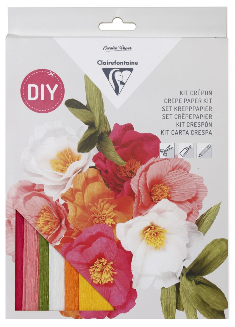 Crepe Paper Flowers Kit