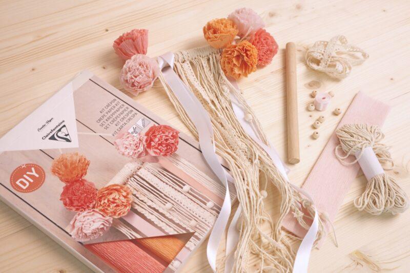 Crepe Paper Macrame Kit