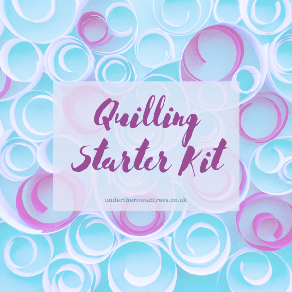 Quilling Starter Kit Box Label