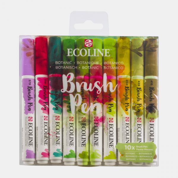 Ecoline Brush Pens X10 Botanic