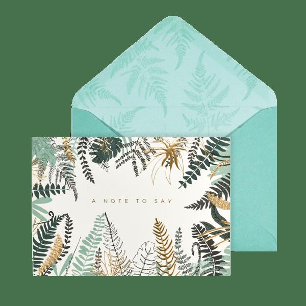 Fern Notecard Set