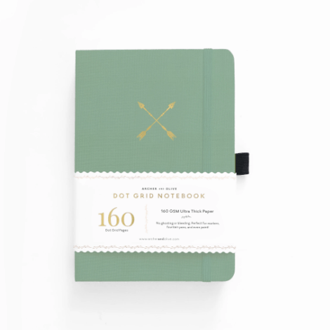 B5 Twin Arrows Dot Grid Notebook
