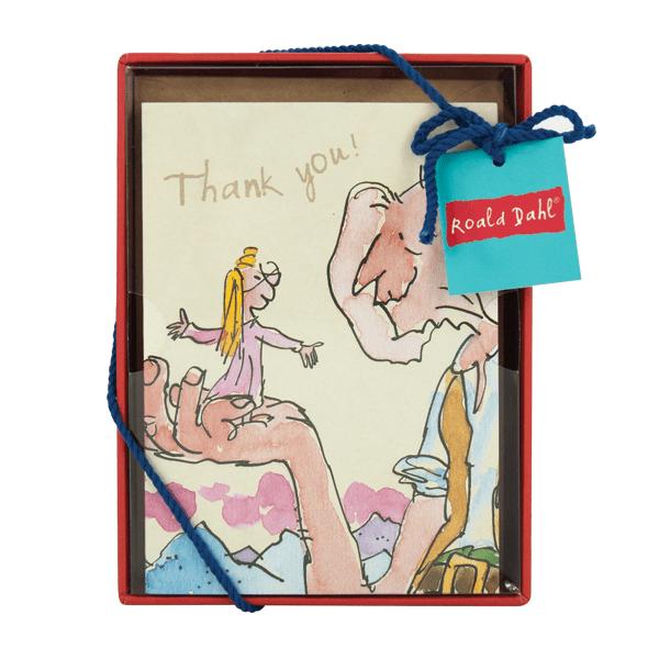 Roald Dahl Notecard Set Boxed