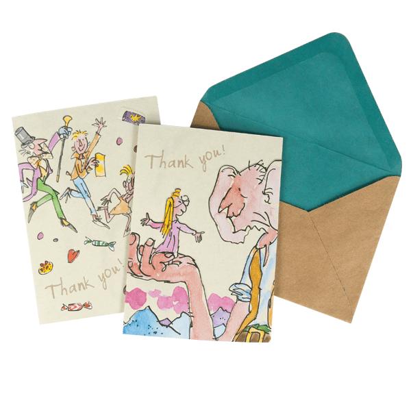 Roald Dahl Notecard Set
