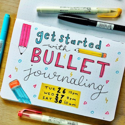 Get Started with Bullet Journaling