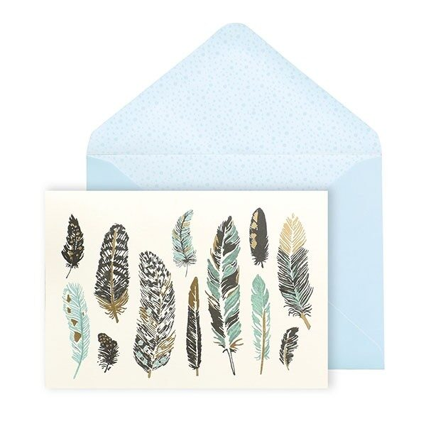Feather Notecard Set