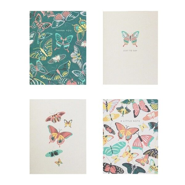 Butterfly Notecard Set