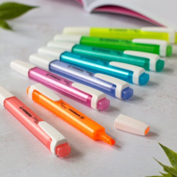 Stabilo Swing Cool Highlighters - Bright Colours
