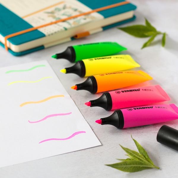Stabilo Boss Original Neon Highlighter Pens