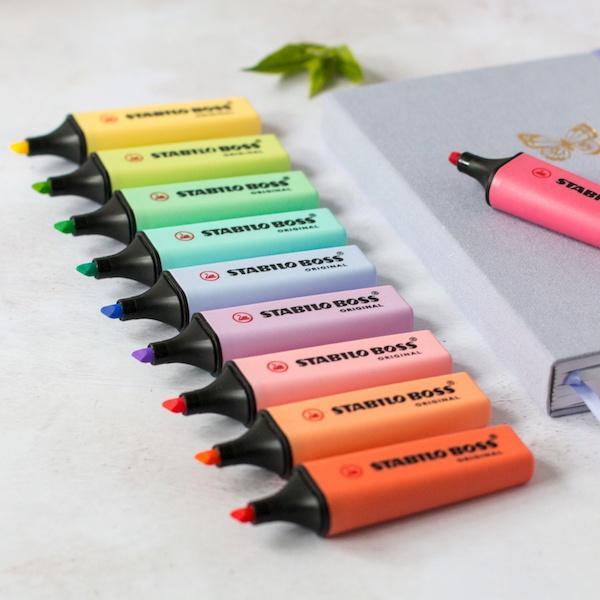 Stabilo Boss Original Pastel Highlighter Pens