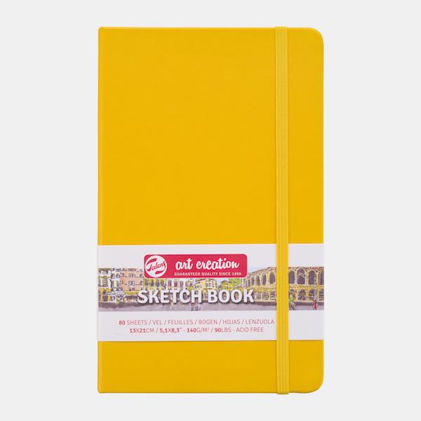 Golden Yellow Hardback Sketchbook