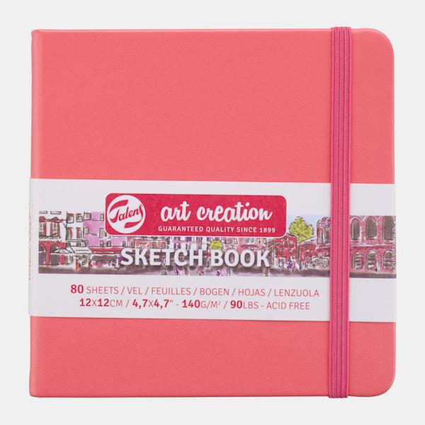 Coral Square Skechbook