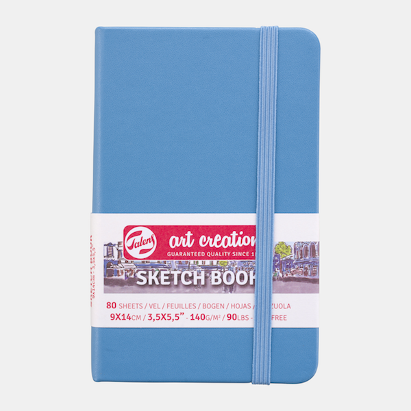 Lake Blue Mini Sketchbook