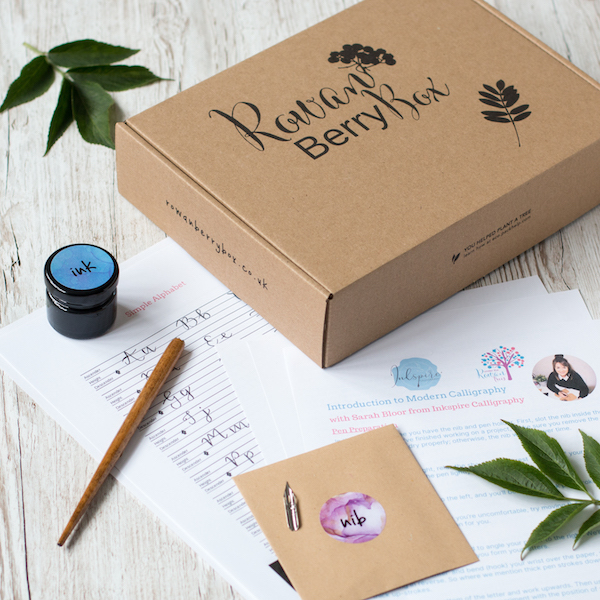 Dip Pen Calligraphy Beginner Set