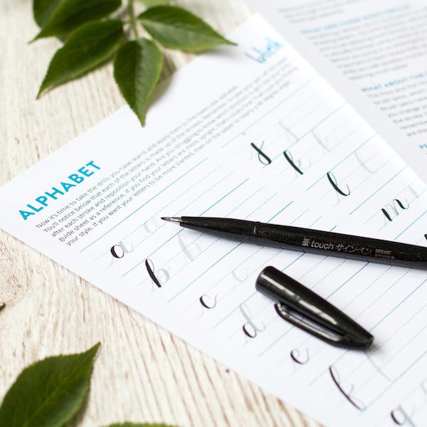 Brush Lettering Beginner Set