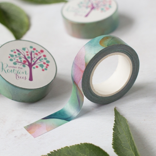 Watercolour Washi Tape - Rowan Berry Box - July 2020