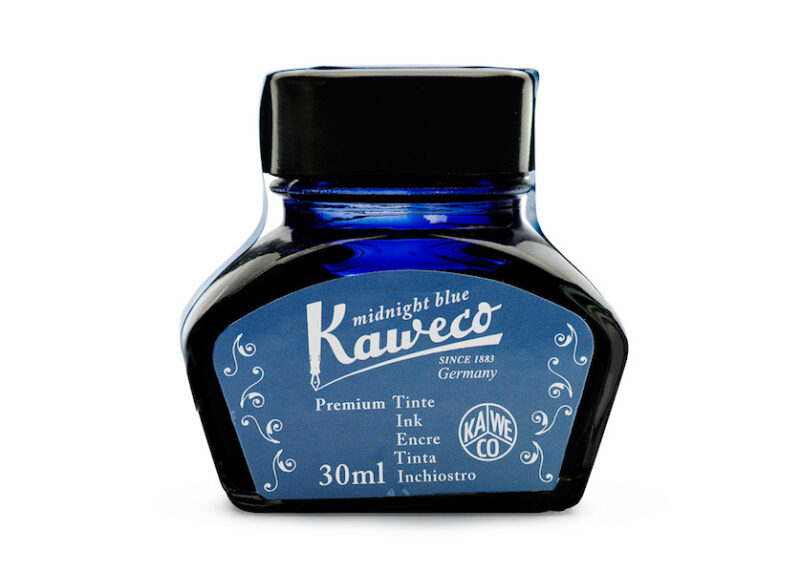 Kaweco Bottled Fountain Pen Ink - Midnight Blue
