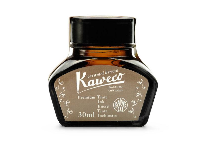 Kaweco Bottled Fountain Pen Ink - Caramel Brown