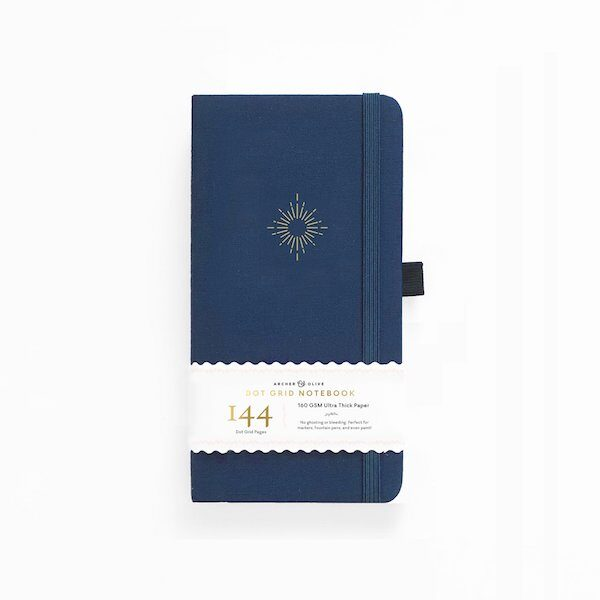 Traveller's North Star Dot Grid Notebook