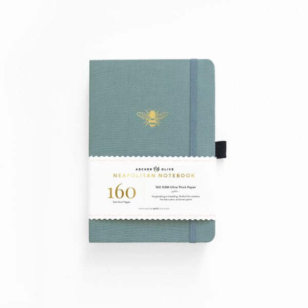 B5 Vintage Bee Neapolitan Dot Grid Notebook