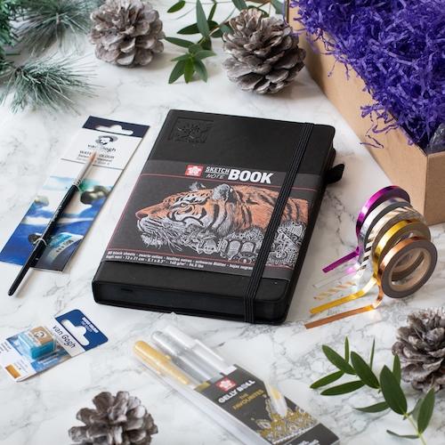 Blackout Journal Starter Kit - Box Contents