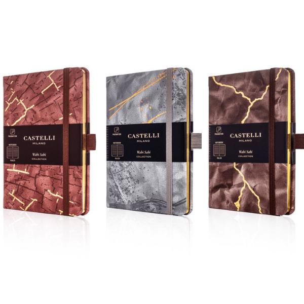 Wabi Sabi Lined Pocket Notebook