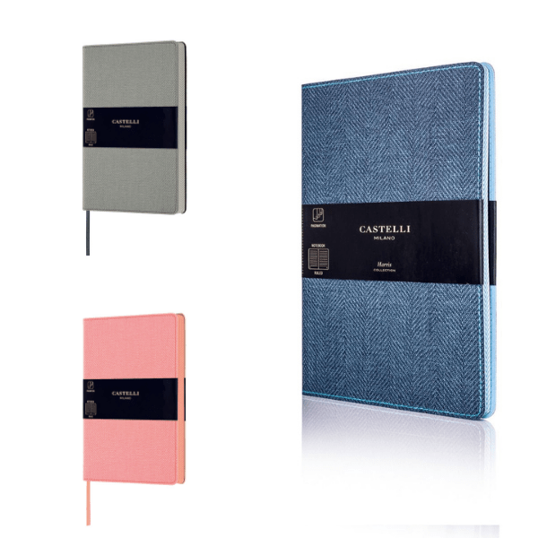 Harris Tweed Pocket Lined Notebook