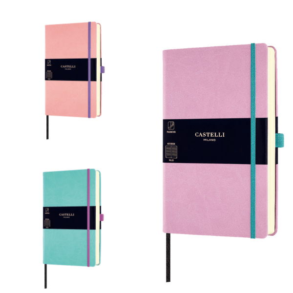 Castelli Aquarela Lined Notebook