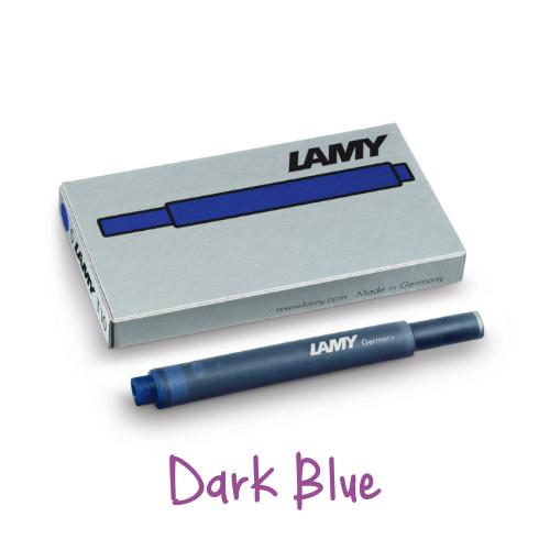 Lamy Ink Cartridges Dark Blue