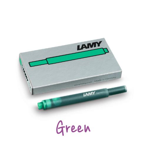 Lamy Ink Cartridges Green