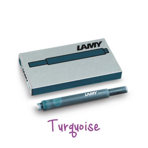 Lamy Ink Cartridges Turquoise