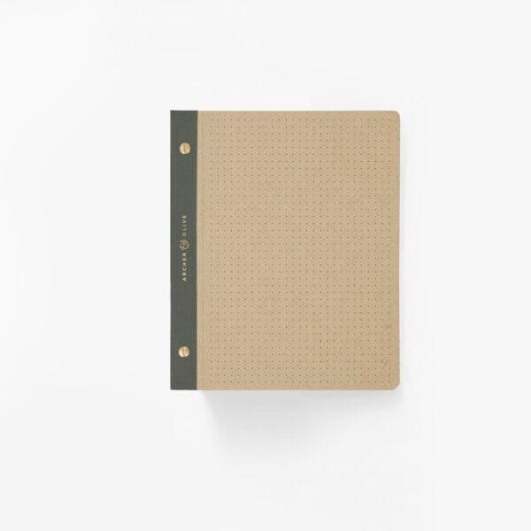 B5 Dot Grid Notepad - Kraft