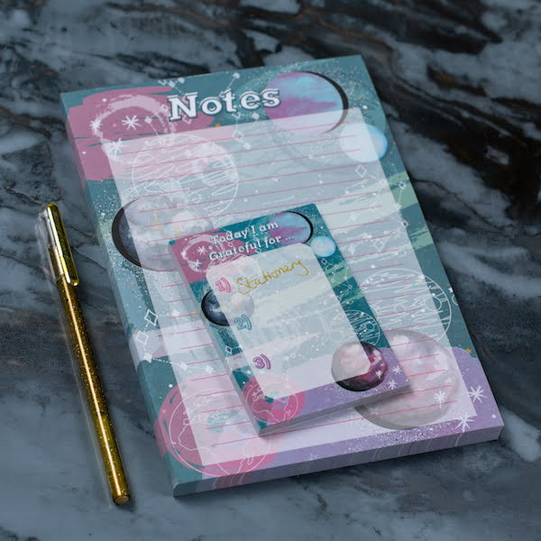 Space Tear-Off Notepad