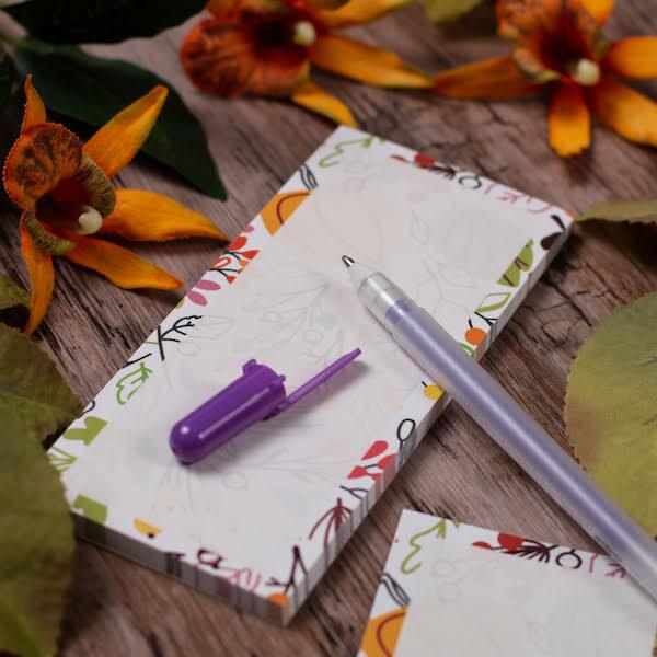 Autumnal List Pad
