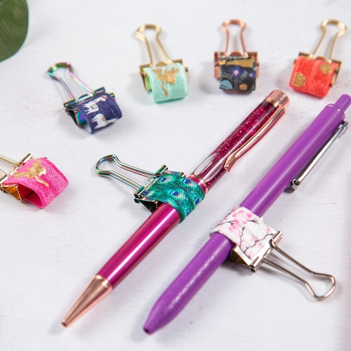 Elasticated Pen Loops