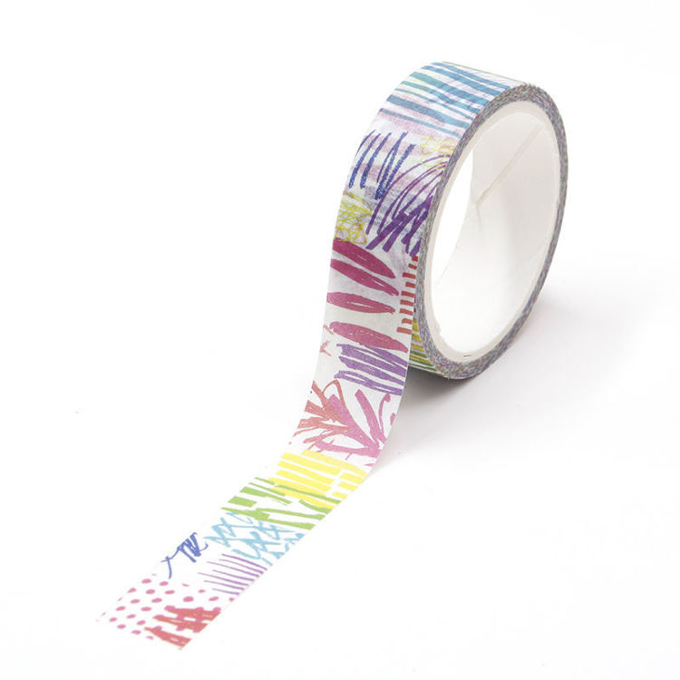 Abstract Doodles Washi Tape