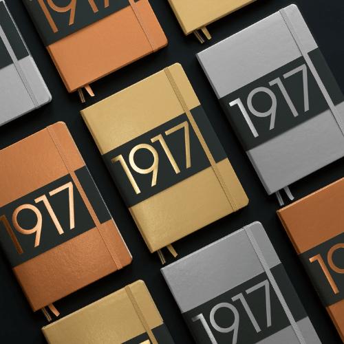 Metallic Notebook Leuchttum 1917 A5 Hardcover
