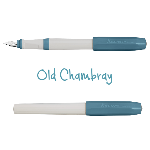 Kaweco Perkeo Fountain Pen New Colours Old Chambray